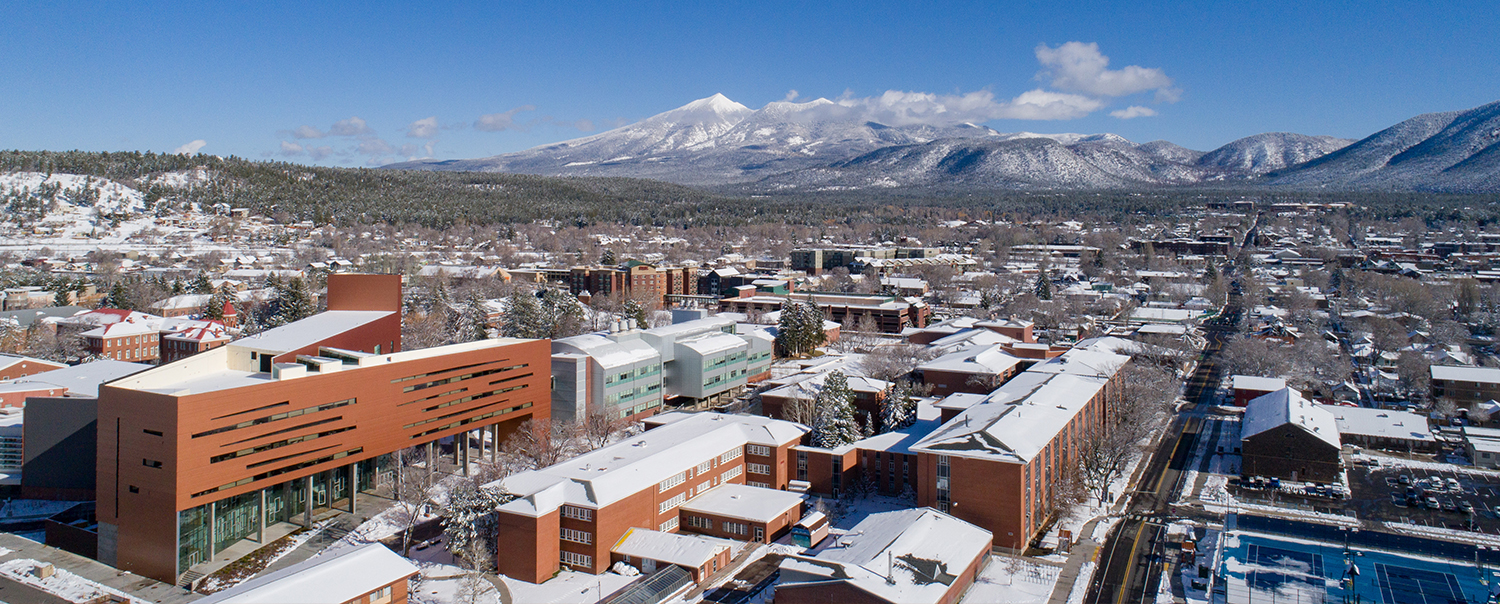 Overview image of the NAU campus